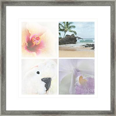 Breathe . Feel The Wind . . . Framed Print by Sharon Mau