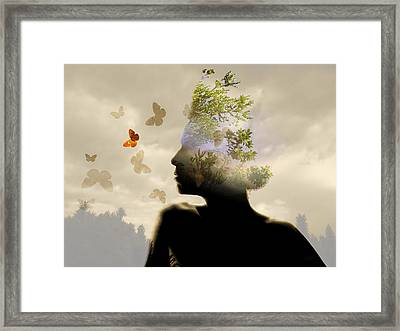 Breathe Framed Print by Andre Pillay