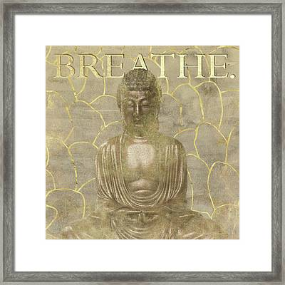 Breathe Framed Print by Aubree Perrenoud