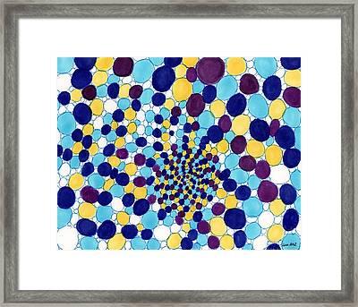 Breathe Iv Framed Print