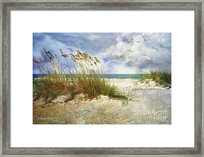 Framed Print featuring the photograph Breathe by Linda Blair