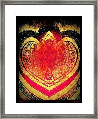 Breathe Love Framed Print by Roxy Hurtubise