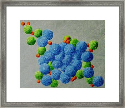 Breathe V Framed Print