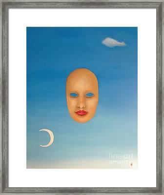 Breathe Framed Print by Venus