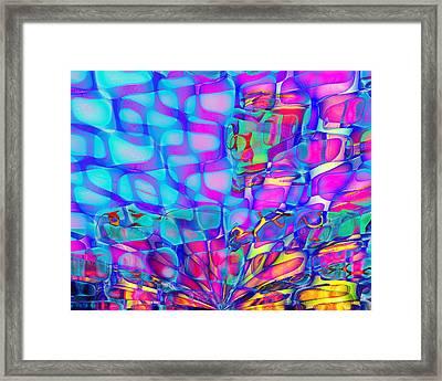 Breathing Underwater Framed Print