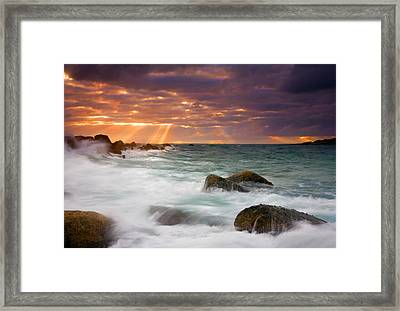 Breathtaking Framed Print by Mike  Dawson