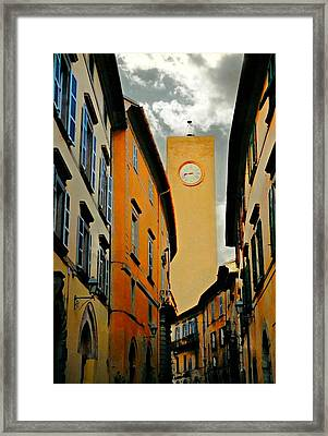 Breathtaking Orvieto Framed Print by Diana Angstadt