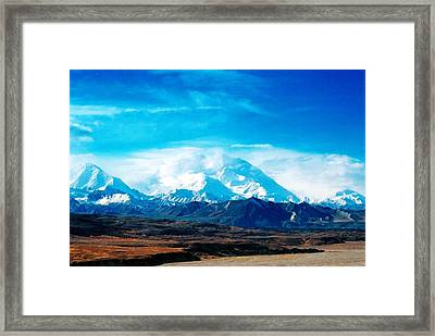 Framed Print featuring the photograph Breathtaking by Steve Godleski
