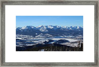 Breathtaking View Framed Print by Fiona Kennard