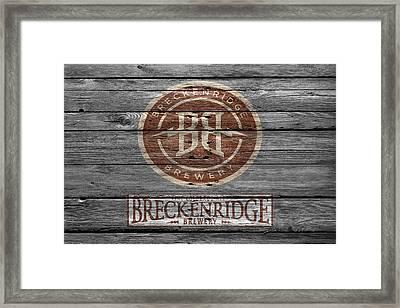 Breckenridge Brewery Framed Print by Joe Hamilton