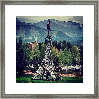 Breckenridge Getting Ready For The Us Framed Print