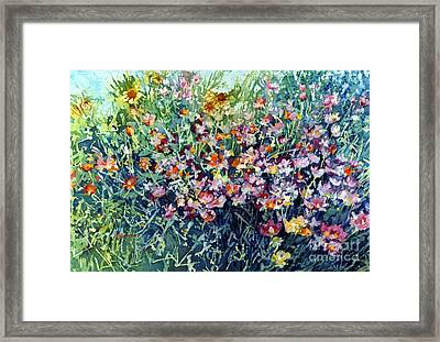 Breeze And Daydream Framed Print by Hailey E Herrera