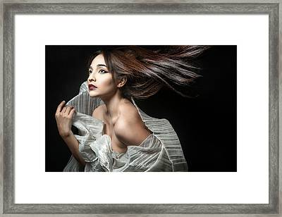Breezin' Framed Print by Tuchi Imperial