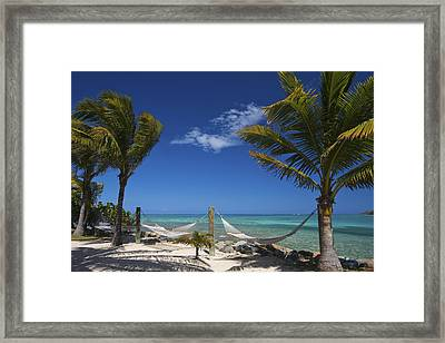Framed Print featuring the photograph Breezy Island Life by Adam Romanowicz