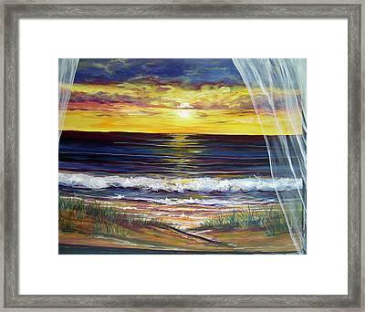 Breezy May Framed Print by Dawn Gray Moraga