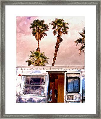 Breezy Palm Springs Framed Print by William Dey