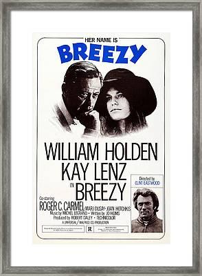 Breezy, Us Poster, Top From Left Framed Print