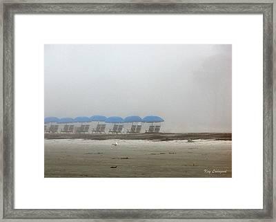 'brella Pattern Framed Print