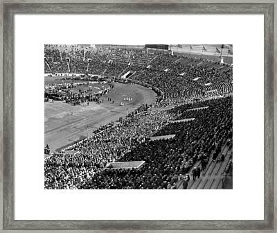 Bremen Flyers Celebration Framed Print