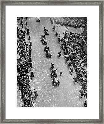 Bremen Flyers Parade Framed Print