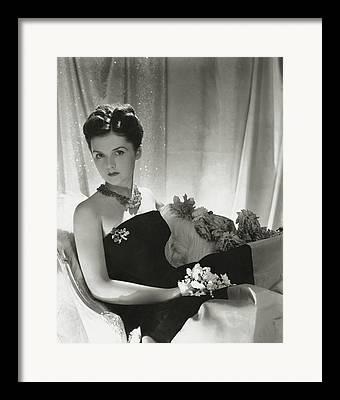 Strapless Dress Photographs Framed Prints