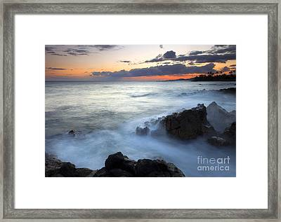 Brennecke Boil Framed Print by Mike  Dawson