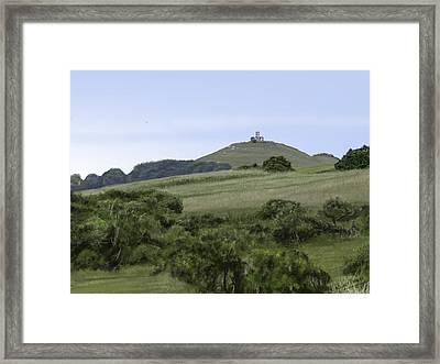 Brentor Framed Print