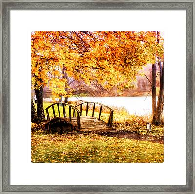 Brenzier Bridge Framed Print