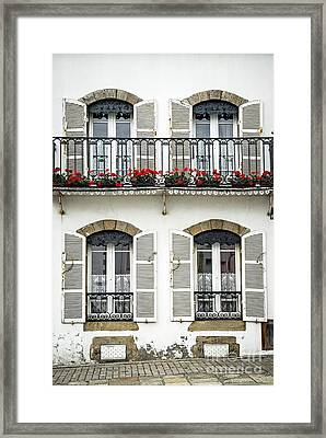 Breton House Framed Print by Elena Elisseeva