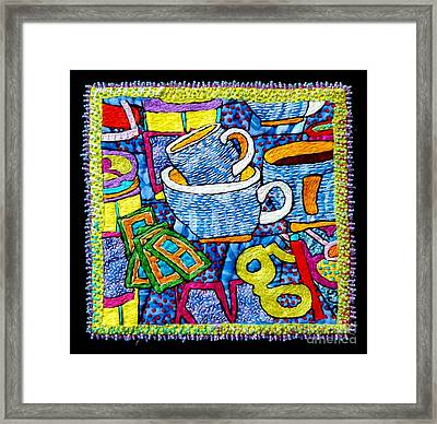 Brew And U Framed Print by Susan Sorrell
