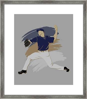 Brewers Shadow Player Framed Print by Joe Hamilton