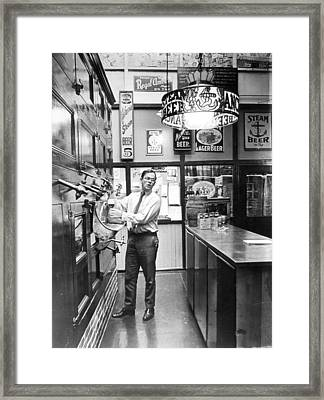 Brewery Or Bar? Framed Print by Retro Images Archive