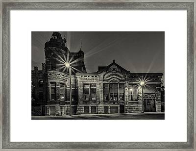 Brewhouse 1880 Framed Print