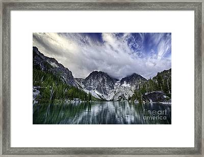 Brewing Storm Framed Print by Whidbey Island Photography