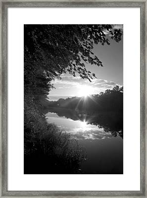 Brf River Framed Print