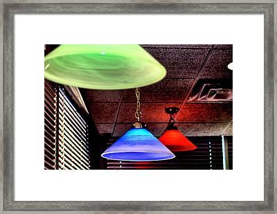 BRG Framed Print by Bob Wall