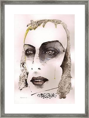 Brian Eno Framed Print by Mark M  Mellon