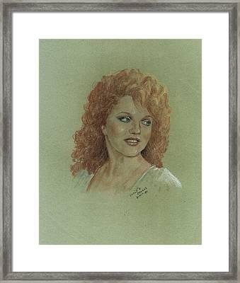 Kentucky Beauty Framed Print