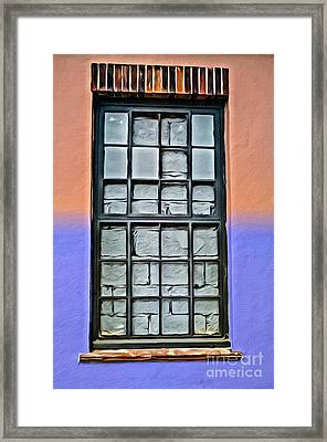 Bricked-up Window Framed Print by Paul Stevens