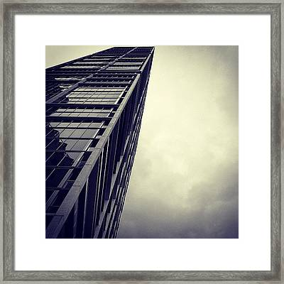 Brickell - Miami Framed Print