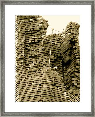 Bricks Framed Print by Azthet Photography