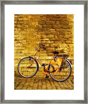 Bricks Framed Print by Eduardo Mora