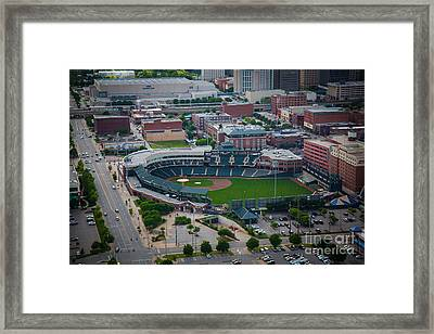 Bricktown Ballpark D Framed Print