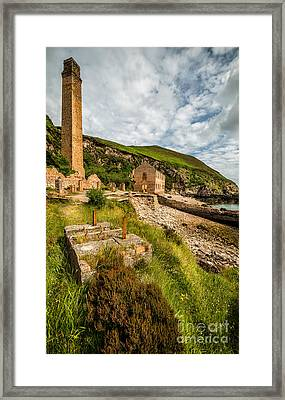 Brickwork Ruins Framed Print