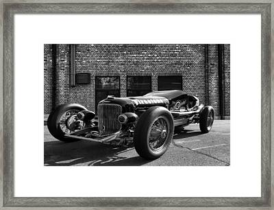 Brickyard Buick Framed Print by Peter Chilelli