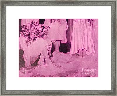 Bridal Pink By Jrr Framed Print