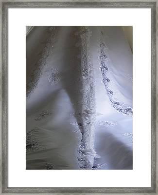 Bridal Train Framed Print