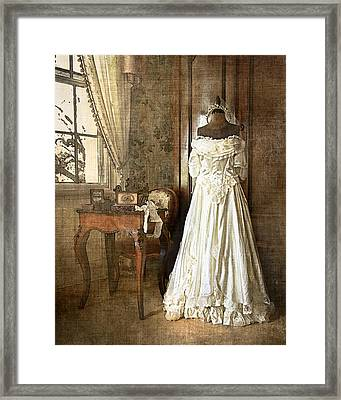 Bridal Trousseau Framed Print by William Beuther
