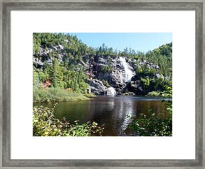 Bridal Veil Falls Framed Print