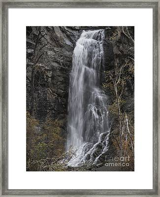 Bridal Veil  Framed Print